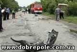 Милиционер на джипе протаранил рейсовый автобус: трое погибли