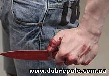 В Димитрове 21-летний парень воткнул нож в живот собутыльника
