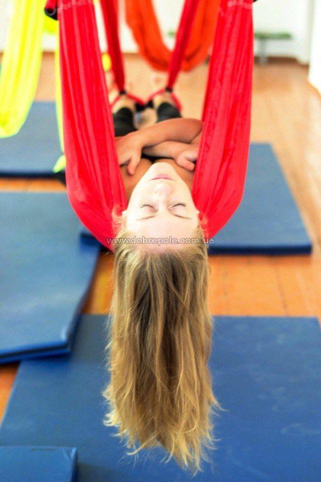 Антигравитационная гимнастика в Доброполье для детей и взрослых от 6 до 60 лет!!!