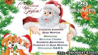 Новогодние корпоративы в Доброполье